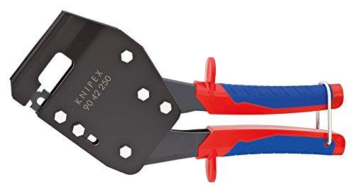 KNIPEX 90 42 250 Pince à sertir les profils brunie avec gaines bi-matière 250 mm