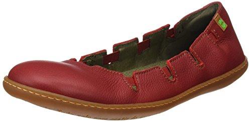 El Naturalista N5272 Soft Grain El Viajero, Scarpe con Piattaforma Donna Rosso (Tibet)