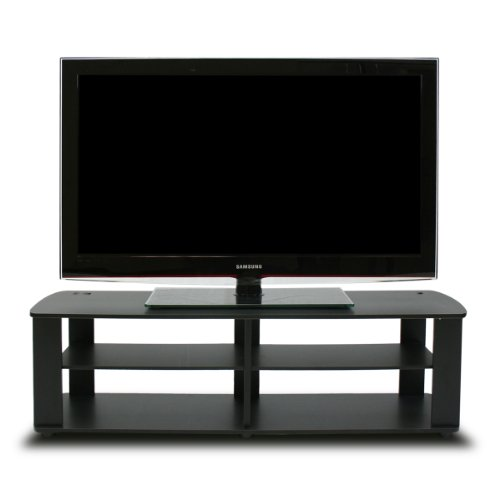 Furinno FNAJ-11109 Boyate Support de Divertissement télévision, Noyer, Noir, Short 43.3'(W) x13.4(H) x13.1(D)
