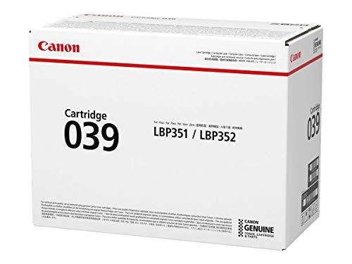 Canon 039 Cartucho de tóner Negro – Tóner para impresoras láser (Cartucho de tóner, Negro, 1 Pieza(s))