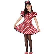 Atosa - Disfraz de ratoncita para niña, talla M, 5-6 años (111-26948)