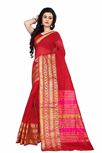 Best Seller: Premium Quality Chanderi Cotton Saree with Blouse