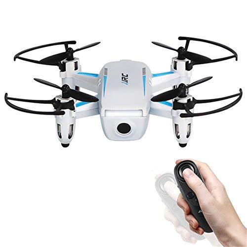 QUARKJK Mini Drohne mit G-Sensor Steuerung Keine Kamera Micro Quadcopter Pocket Drone Fernbedienung Spielzeug Für Kid Dron Geschenke,White -