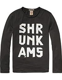 Scotch Shrunk Jungen T-Shirt Tee with Logo Artworks