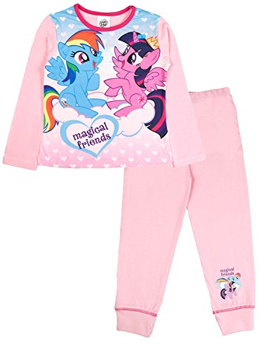 hen Schlafanzug Gr. 9-10 Jahre, My Little Pony - Magical Friends (Xmas Pjs Kinder)