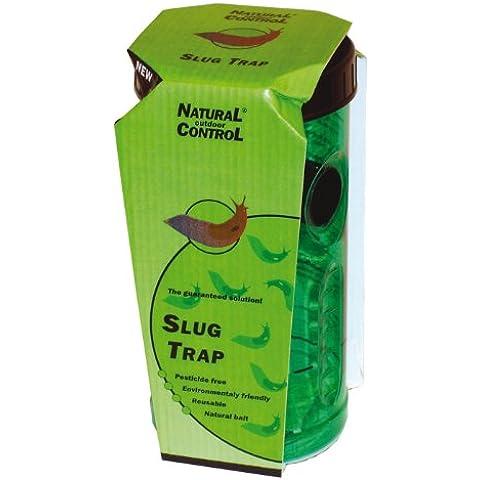 SWISSINNO 1361001W controllo naturale Slug Trappola con 1-Porzione di Bait - Verde