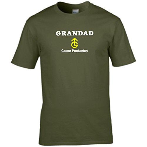 S Tees Herren T-Shirt Grün - Grün