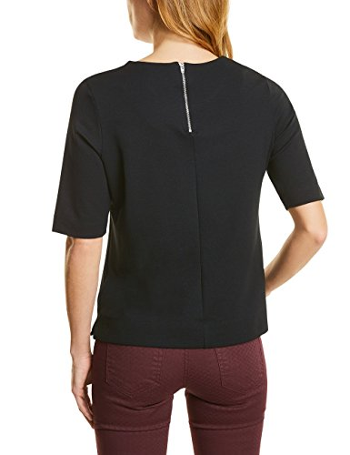 Street One Damen T-Shirt Schwarz (Black 10001)
