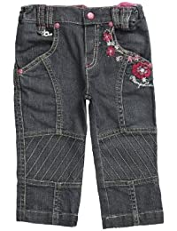 Pampolina Baby Girls' Straight Fit Jeans