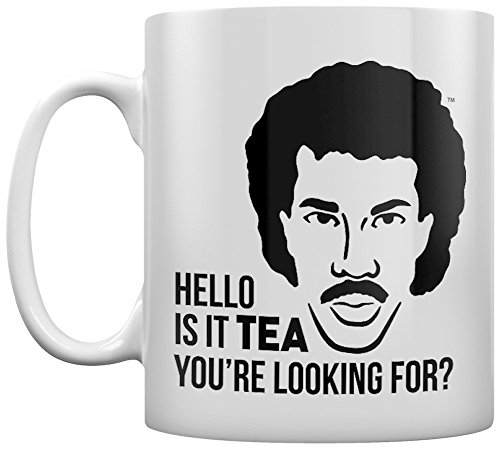Lionel Richie Is it Tea You're Looking For? Funny Mug