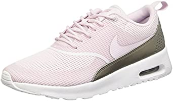 Nike Damen W Air Max Thea Txt Turnschuhe, Azul (Bleached Lilac / Bleached Lilac), 40 EU