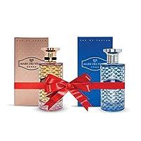 Bundle Of 2 Mark Des Vince Perfumes(Mark Des Vince Uomo Eau De Parfum 100ML,Mark Des Vince Donna Eau De Parfum 100ML)