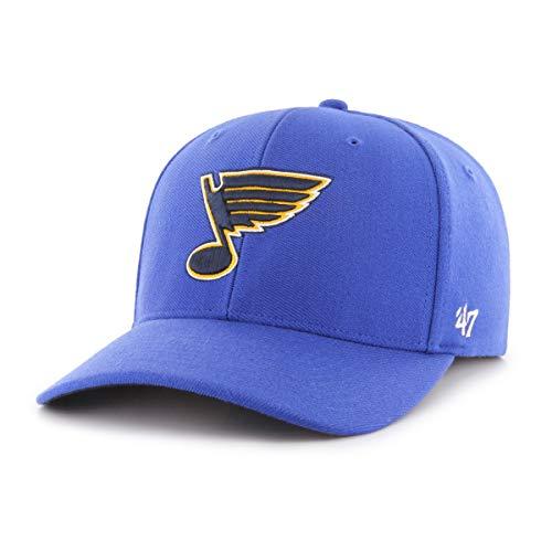 47 Brand Stretch Cap - Kickoff St Louis Blues Navy - Louis Blues Bekleidung
