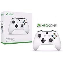 Microsoft Xbox Wireless Controller Blanco Gamepad PC, Xbox One S - Volante/mando (Gamepad, PC, Xbox One S, Analógico/Digital, D-pad, Inalámbrico, Bluetooth)