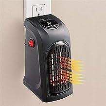 GLJY Calentador Portátil, Calentador De Espacio Personal Enchufable Ventilador De Aire Caliente con Termostato Y