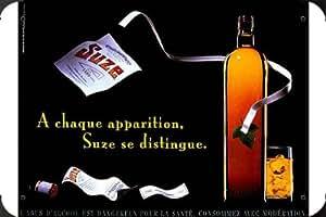 """Metal Poster enseigne marque de Suze: STRIPTEASE 8""""x12"""""""