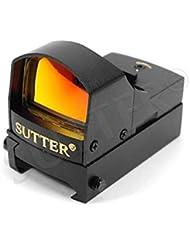 Multi Dot Viseur point rouge & Red Dot Sight 1x22 (rouge/vert) | pour rails de Weaver & Picatinny | De serrage rapide | Lunette de visée chasse & Airsoft