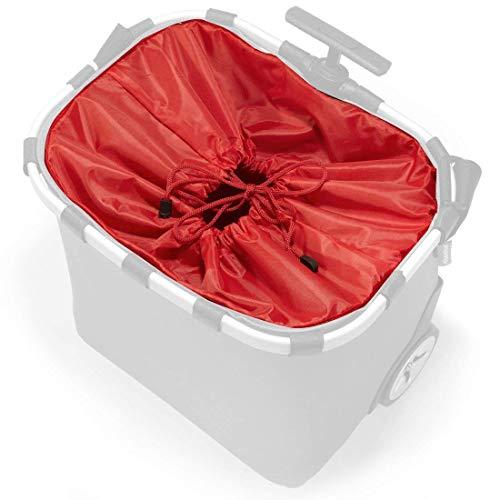 reisenthel Innenfutter Ersatzstoff für carrycruiser Einkaufstrolley in vielen Farben (rot)