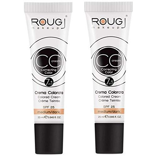 2x Rougj  CC Cream tonalità MEDIUM/DARK
