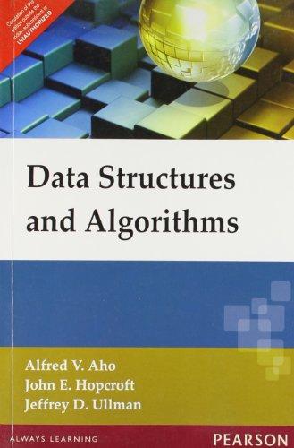 Data Structures & Algorithms, 1e