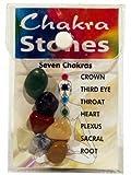 7 Chakrasteine im SET mit Samtsäckchen - 7 Chakra Steine STONES - CUTE NAILS