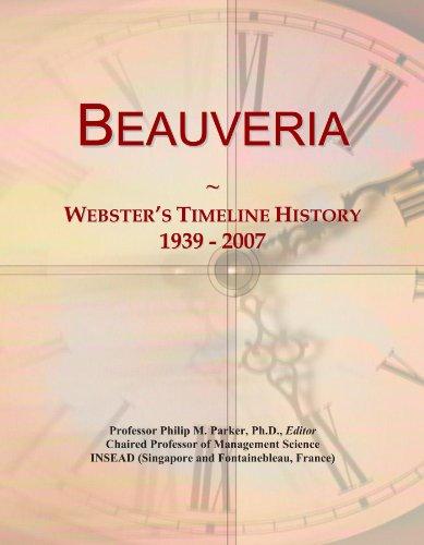 Beauveria: Webster's Timeline History, 1939-2007