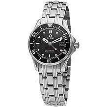 Omega–Reloj de pulsera analógico para mujer cuarzo acero inoxidable 21230286101001