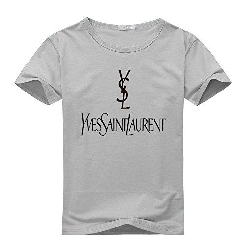 ysl-yves-saint-laurent-para-hombre-impreso-camiseta-de-manga-corta