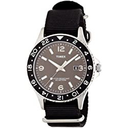 Timex Men's Quartz Watch with Analogue Display and Nylon Strap