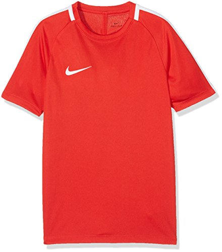 Nike Kids Dry Academy Football Top - University Red White White  Large