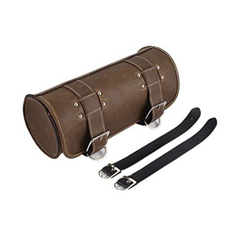 Leoboone Universal Haltbare Wasserdichte Tasche Gepäcktasche Taschen Leder Sattel Werkzeug Seitenschwanz Borsello Motorrad Tasche -