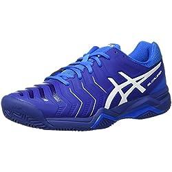 Asics Gel-Challenger 11 Clay, Zapatillas de Tenis para Hombre, Azul (Limoges/White/Directoire Blue), 44 EU