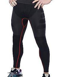 LMMET Uomo Quick Asciutto Corsa allo Sport Palestra Yoga Atletico Leggings  Pantaloni Leggings Compression Collant Uomo Sport AAsciugatura… 8eddf7d8be5
