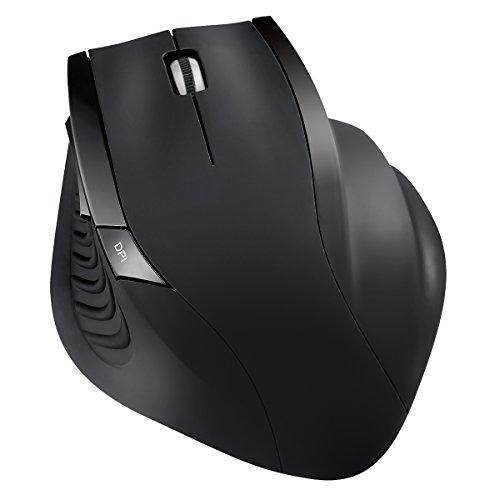 Amir Maus Schnurlos, 2.4G Kabellose Maus, Wireless Maus drei Justierbare DPI Level, Nano Empfänger, Optische Mäuse für Computer, Laptop, Desktop, Büro usw.