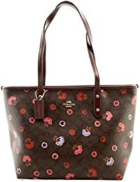 COACH City Zip Tote With Primrose Floral Print Handbag c91b7fb163ac2