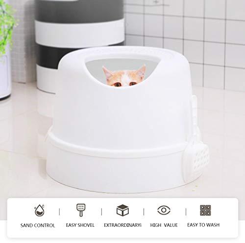 Top-in Design Caja de Arena para Gatos