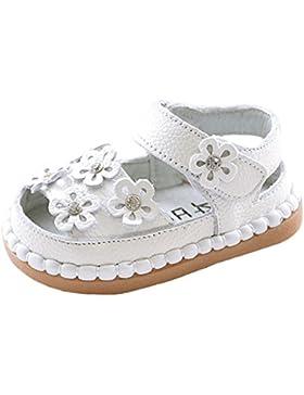 La Vogue Zapatos Niña Sandalias para Verano Flor Suela Antideslizante