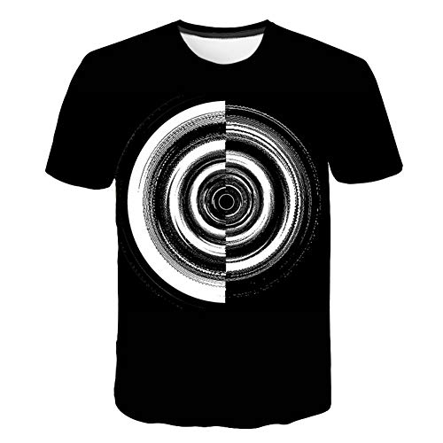 7fa9ca6c47a3 NSDX Mens T-Shirts Summer Men/Women 3D T Shirts Print Trippy Psychedelic  Whirlpool
