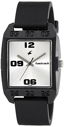 41vXHZk9%2BdL - Fastrack 3115PP01 Casual Silver Mens watch