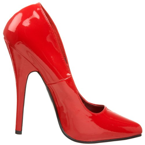 Pleaser Dom420/r, Escarpins femme Rouge