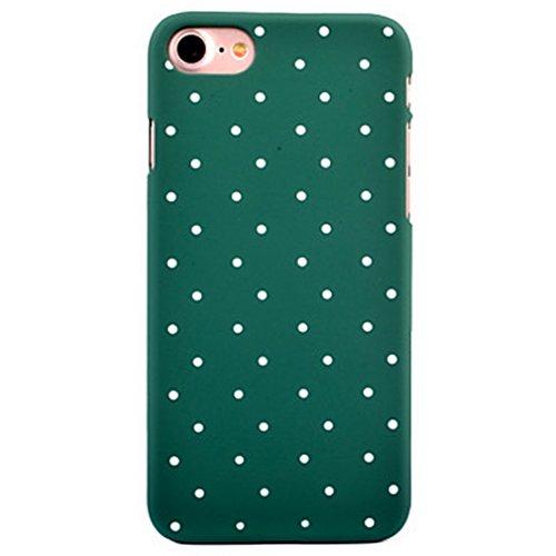 Dikals custodia UN Po di PROGETTAZIONE Classica Onda adorabile.per il iPhone 7 Plus(5,5),Nero Verde