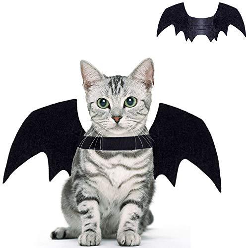 lügel für Katzen, Hunde, Fledermausflügel, Weihnachts-Katzen-Kostüm, Party-Flügel für Halloween, Weihnachten, Partys oder den täglichen Gebrauch, Fotoshooting, Paraden und mehr. ()