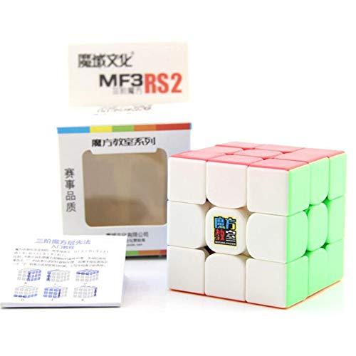 Gobus MoYu MOFANGJIAOSHI MF3RS2 Zauberwürfel MF3RS V2 Geschwindigkeitswürfel 3x3x3 Puzzlewürfel MF3RS 2 Zauberwürfel (Stickerless)