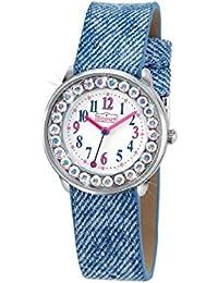 Scout Mädchen-Armbanduhr Analog Quarz Kunstleder 280381008