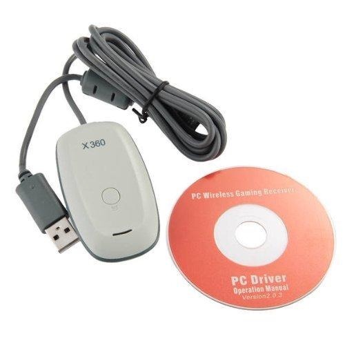 Wireless Receiver Adapter für PC XBOX 360 Controller Windows 7/8 Weiß