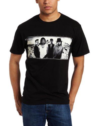 FEA Merchandising Hombres de U2Joshua Tree Slim Fit–Camiseta para Hombre - Negro -