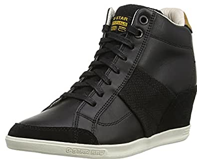 g star yard wildchild damen high top sneaker schwarz. Black Bedroom Furniture Sets. Home Design Ideas