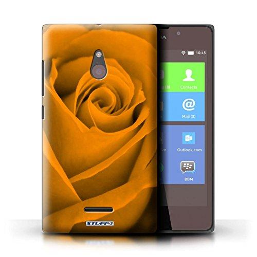 Kobalt® Imprimé Etui / Coque pour Nokia XL / Pourpre conception / Série Rose Orange