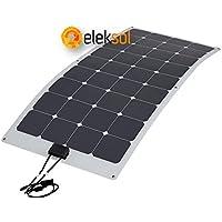 Panel Solar Flexible 100w monocristalino ETFE (Fibra) Alta calidad