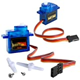 YUNIQUE UK (R) - 2 Pieces New SG-90 SG90 9g Micro Servos For Car Helicopter Plane Boat